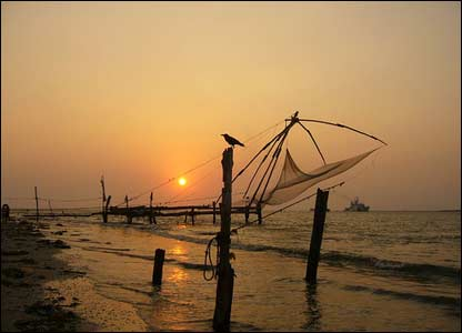 Fishing nets in Kerala