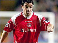 Charlton midfielder Andy Reid