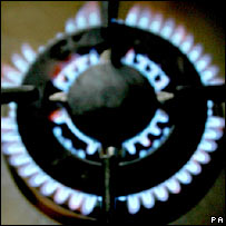 Gas ring. Image: PA