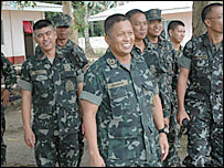 General Juancho Sabban and his men