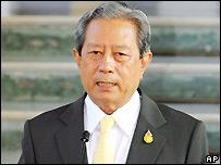 Thai PM Surayud Chulanont