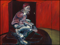 Study From Innocent X by Francis Bacon