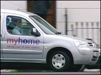 A Myhome van