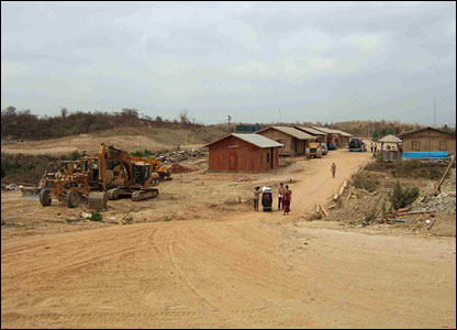 Building work at Naypyidaw