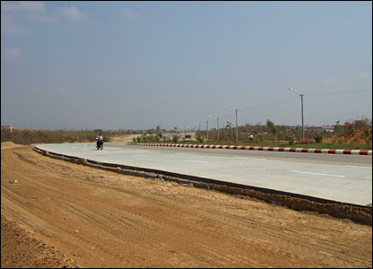 New highway in Naypyidaw