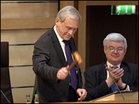 George Reid (pic supplied by the Scottish Parliament)