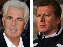 Max Clifford and Steve McClaren