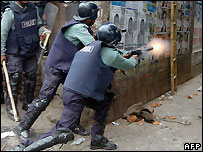 Police in Bangladesh - file photo