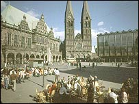 Bremen city square