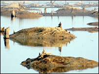 site of the Gumti hydel project in Tripura
