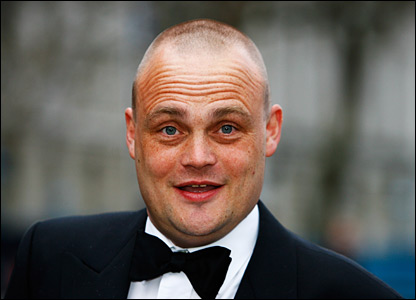 Comedian Al Murray joins figures from the world of entertainment at the glittering bash