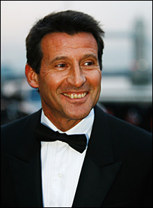 Lord Sebastian Coe is one of many leading figures from the world of sport to attend