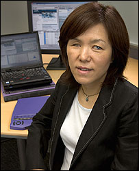 Photo of Chieko Asakawa