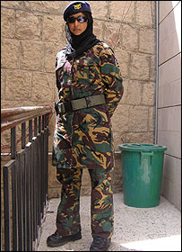 Farah, a Yemeni woman in the Counter Terrorism Unit