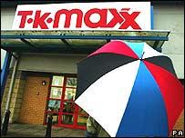 TK Maxx shop front