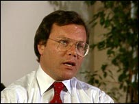 Portrait of Sir Martin Sorrell from 1990