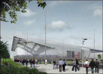 National Indoor Sports Arena (courtesy of Designive/Glasgow 2014)