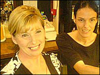 Pub owner Ellen Evans (left) and manager Sally Gilbert