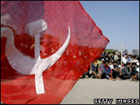 Maoist gathering in Nepal