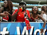 West Indies supporters