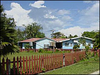 Gizo hospital before the tsunami - photo from Solomon Islands government