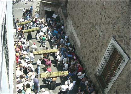 Procesión en Taxco