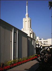 Templo en Chile