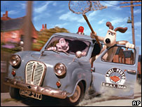 Still from Wallace and Gromit: Curse of the Were-Rabbit