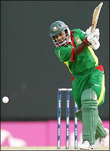 Javed Omar plays his first game since Bangladesh's World Cup warm-up win over New Zealand on 6 March