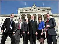 Sinn Fein unveiled its ministerial team