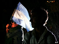 Acto conmemorativo por los 25 a�os de la guerra de las Malvinas/Falklands