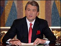 Víctor Yúschenko.