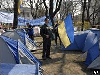 Capamento en Kiev.