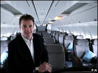 Silverjet boss Lawrence Hunt