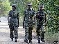 Tamil Tiger fighters