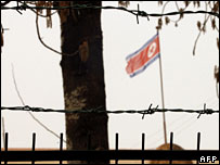 N Korea embassy in Beijing - archive image