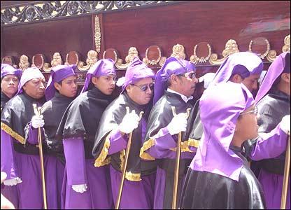 Procesión en Guatemala