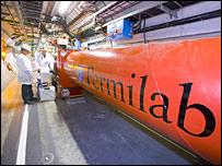Inner triplet at Cern  Image: Fermilab/Cern