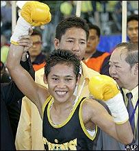 Thai prisoner boxer, Samson Sor Siriporn