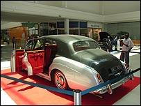 Jaguar on display at Belas Shopping mall