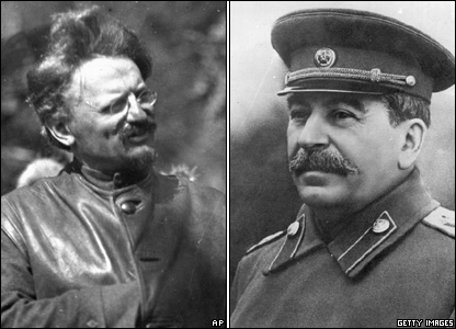 """Best Buds"" Trotsky and Stalin"