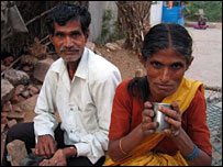 Patients with leprosy