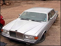 Abandoned Rolls Royce