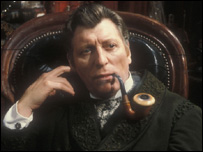Tom Baker as Sherlock Holmes