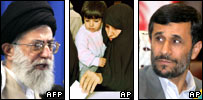 Ayatollah Khamenei, Iranian woman and child vote, President Ahmanedinejad