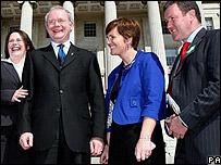 Sinn Fein's new ministers