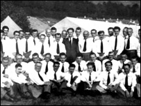 Fron Male Voice Choir in 1947 or 1948