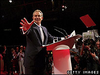 Tony Blair - 2007 Labour conference