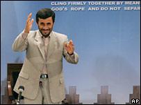 اللرئيس الإيراني محمود أحمدي نجاد