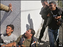 Palestinians mourn killing of Ramez Zanin in Beit Hanoun